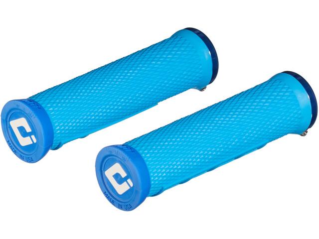 ODI Elite Flow Lock-On 2.1 MTB Grips, azul